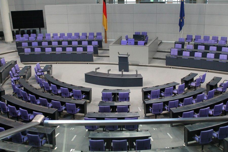 Deutscher Bundestag Plenarsaal